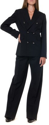 DSQUARED2 Black Two Pieces Wool Suit