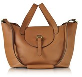 Meli-Melo Women's Brown Leather Tote.