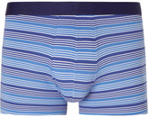 Derek Rose Striped Stretch-Cotton Boxer Briefs