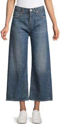 Citizens of Humanity High-Rise Wide-Leg Jeans