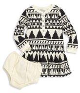 Ralph Lauren Baby's Two-Piece Henley Dress & Bloomers Set