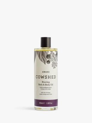 Cowshed Awake Bracing Bath & Body Oil, 100ml