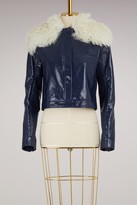 Courreges Jacket with shearling collar