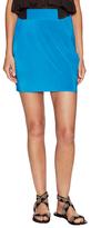 T-Bags LosAngeles Side Draped Mini Skirt