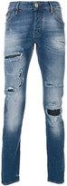 Philipp Plein Morov stonewashed jeans