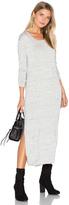 Bella Dahl Side Slit Long Sleeve Dress