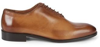 Massimo Matteo Leather Plain Toe Oxfords