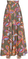 Peter Pilotto Printed Cotton Poplin Palazzo Pants