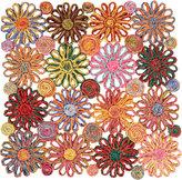Deborah Rhodes Raffia Flower Placemat