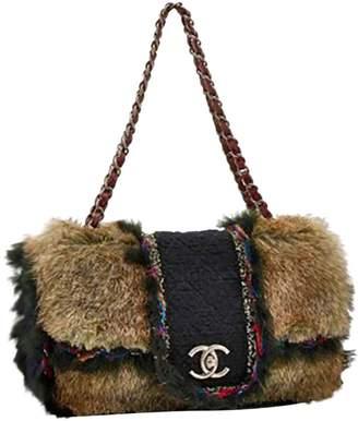 Chanel Timeless/Classique Multicolour Faux fur Handbags