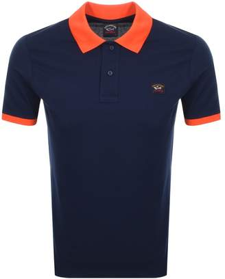 Paul & Shark Paul And Shark Short Sleeved Polo T Shirt Navy