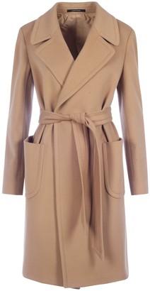 Tagliatore Belted Coat