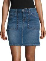 Calvin Klein Studded Denim Skirt