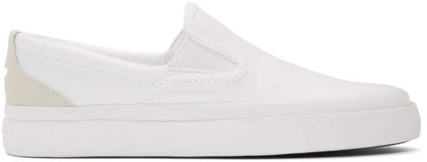 Converse White One Star Slip-On Sneakers