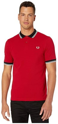 Fred Perry Contrast Trim Polo (Siren) Men's Clothing