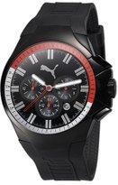 Puma Men's Top Gear PU100061003 Polyurethane Analog Quartz Watch with Dial