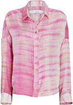 IRO Capella Tie-Dye Silk Shirt