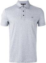 Michael Kors logo plaque polo shirt - men - Cotton - XS