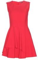 Alexander McQueen Draped Crepe Dress