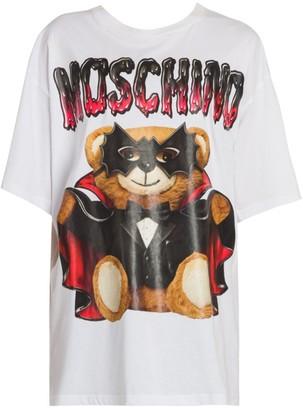 Moschino Bat Bear Graphic T-Shirt
