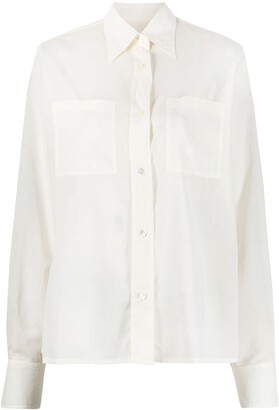 Lemaire Semi-Sheer Cotton T-Shirt