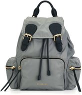 Burberry patch pocket backpack