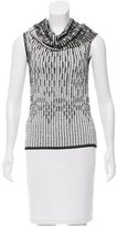 Roland Mouret Patterned Sleeveless Top