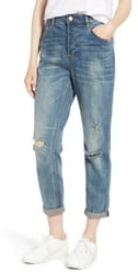 Tinsel Billie Distressed Relaxed Jeans