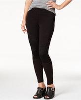 Hue Women's Lace-Knee Leggings