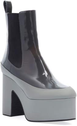 Dries Van Noten Chunky Platform Patent Boots