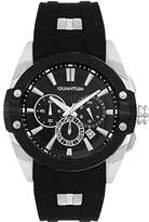 Quantum Hunter Men's Quartz Watch with Chronograph Quartz Silicone hng378.351