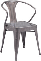 ZUO Set Of 2 Helix Dining Chairs
