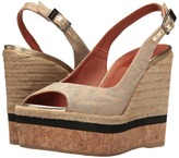 Missoni Sling Wedge Platform Women's Shoes
