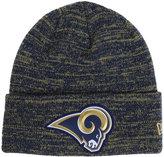 New Era Los Angeles Rams Beveled Team Knit Hat