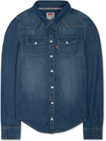 Levi's Denim Shirt, Big Girls (7-16)