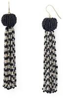Vanessa Mooney Antoinette Beaded Tassel Drop Earrings