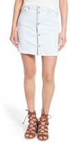 Hudson Cammy Button Front Denim Skirt