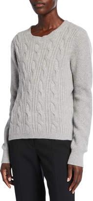 Max Mara Termoli Cashmere Cable-Knit Sweater