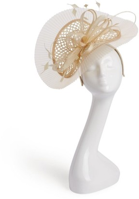 Peter Bettley Pleated Ribbon Fascinator
