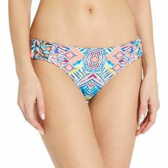 Red Carter Women's Beauty & The Beach Reversible Side Tie Cali Hipster Bikini Bottom