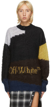 Off-White Black Punked Sweater