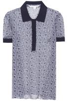 Diane von Furstenberg Amadine Printed Silk Top