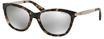 Ralph Lauren RALPH BY EYEWEAR Essential 54mm Extended Temple Cat-Eye Sunglasses
