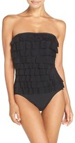 Women's Magicsuit 'Leah' Underwire Mesh Tiers One-Piece Swimsuit