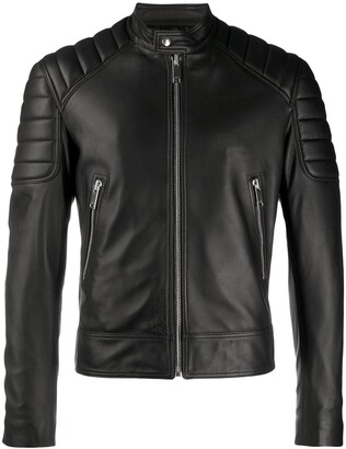 Sandro Zipped Biker Jacket
