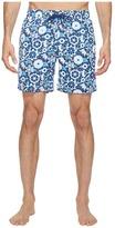 Mr.Swim Mr. Swim - Lace Floral Printed Dale Swim Trunk Men's Swimwear