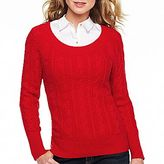 JCPenney jcpTM Boatneck Pullover Sweater