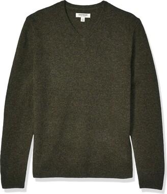 Goodthreads Lambswool V-neck Sweater Light Blue 2X Tall