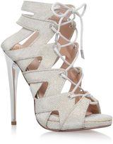 Kurt Geiger Hoxton high heel lace up sandals