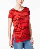 Kensie Lane Printed T-Shirt